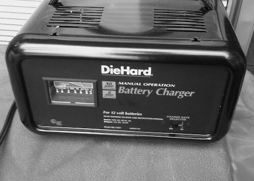 Cast Iron Cleaning With Electrolysis The Cast Iron Collector – Diehard Battery Charger Wiring Diagram