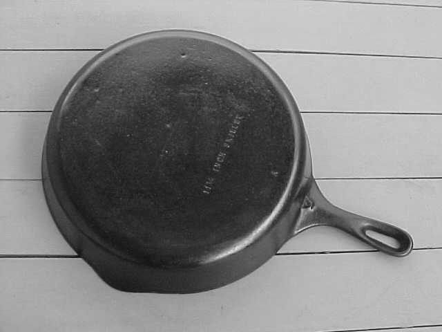 Unmarked Cast Iron Cookware Identification The Cast Iron